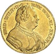 1 wilhelms d'Or Friedrich Wilhelm I. – avers