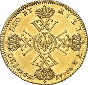 1 wilhelms d'Or Friedrich Wilhelm I. – revers