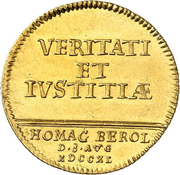 1 ducat Friedrich II. -  avers