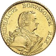 2 friedrichs d'or Friedrich II. – avers
