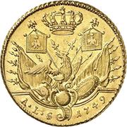 2 friedrichs d'or Friedrich II. – revers
