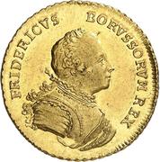 1 friedrich d'or Friedrich II. – avers
