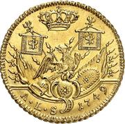1 friedrich d'or Friedrich II. – revers
