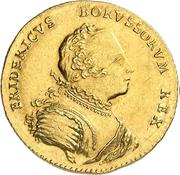 1 ducat Friedrich II – avers