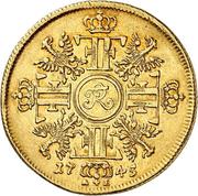 1 friedrichs d'or Friedrich II – revers
