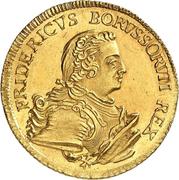 2 friedrichs d'or Friedrich II – avers