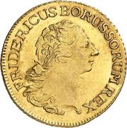 2 friedrich d'or Friedrich II – avers