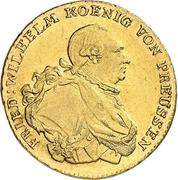 1 friedrich d'or Friedrich II – avers