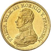 1 friedrichs d'or Friedrich Wilhelm III – avers