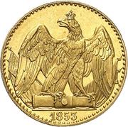 ½ Friedrich d'or - Friedrich Wilhelm IV – revers