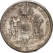 1 piastre Friedrich II – revers