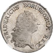 1 reichsthaler - Friedrich II -  avers
