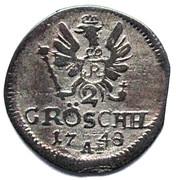 2 gröschel - Friedrich II – revers