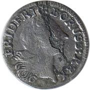 1 kreutzer Friedrich II – avers