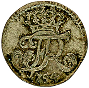 1 gröschel - Friedrich II – avers