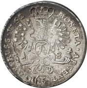 18 gröscher Friedrich II -  revers