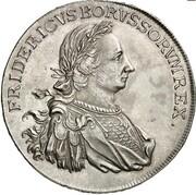 1 thaler Friedrich II – avers