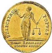 1 ducat Friedrich II – revers