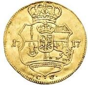 1 ducat Friedrich Wilhelm I – revers