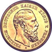 10 Mark - Friedrich III – avers