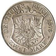 2 mark Adolph Friedrich V (essai) – revers