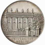 3 mark Wilhelm II (University of Berlin - Pattern) – avers