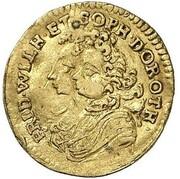 ¼ ducat Friedrich I (Marriage) – avers