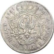 1 thaler Friedrich II – revers