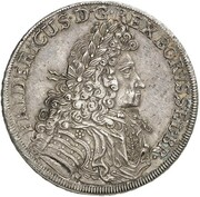 1 thaler Friedrich I – avers