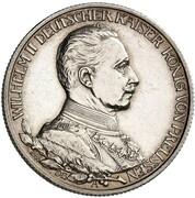 2 Mark - Wilhelm II (Reign - Pattern) – avers