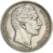 4 mark Wilhelm II – avers