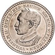2 mark Wilhelm II – avers