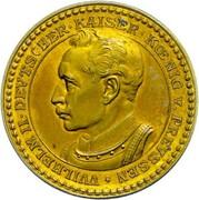 2 Mark - Wilhelm II (Pattern) – avers
