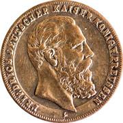 Token Friedrich III - Preussen – avers