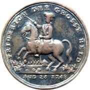 Medallion - Friderich der Grosse Held – avers