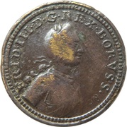 Frederick III - Pax In Bello – avers