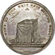 Médaille réligieuses de confirmation (type 1) – revers