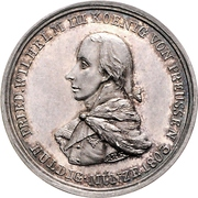 Medal - Friedrich Wilhelm III. Homage to Prussia upon Annexation of Paderborn – avers
