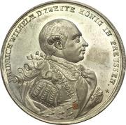 Médaille - Start of reign of Friedrich Wilhelm II. (Prussia) – avers