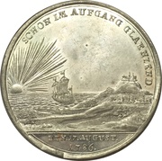 Médaille - Start of reign of Friedrich Wilhelm II. (Prussia) – revers