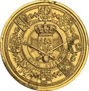 Couronnement de Guillaume Ier comme roi de Prusse – revers