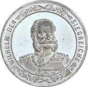 Medal - Victory over France (Prussia) – avers