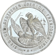 Medal - Victory over France (Prussia) – revers