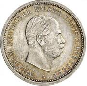 5 Mark - Wilhelm I (Pattern) – avers