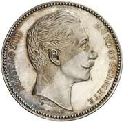 4 Mark - Wilhelm II (Pattern) – avers
