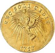 1 ducat Friedrich Wilhelm I. – revers
