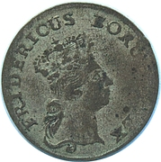 3 kreuzer - Friedrich II – avers