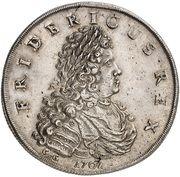 1 thaler Friedrich I (Couronnement) -  avers