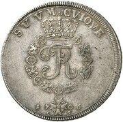 1 thaler Friedrich I – revers