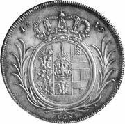 1 thaler Friedrich Wilhelm I – revers